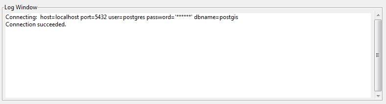 Наполнение базы данных PostGIS