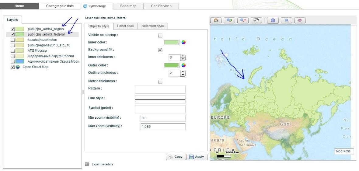 GeoQlik: проверка настроек