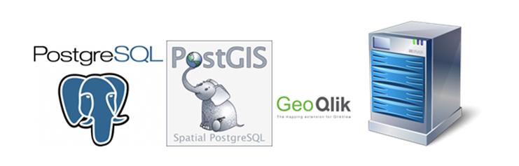 Поднимаем картографический сервер GeoQlik на базе PostgreSQL и PostGis