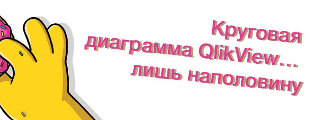 Альманах визуализации, выпуск №1/6: Круговая диаграмма QlikView… лишь наполовину