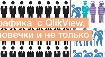 Альманах визуализации, выпуск №1/4: Инфографика  с QlikView, или человечки и не только
