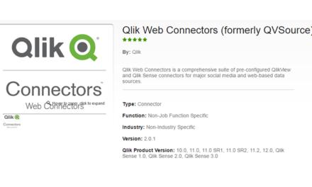 Бесплатные веб-коннекторы Qlik: как и для чего воспользоваться