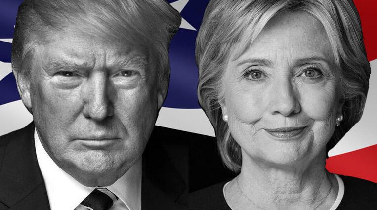 Диаграмма-датчик QlikView по мотивам выборов в США