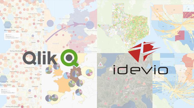 Qlik GeoAnalytics: Аналитика на карте после приобретения Idevio