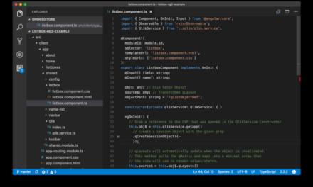 Angular (ng2) и RxQ: создание пользовательского элемента управления Listbox