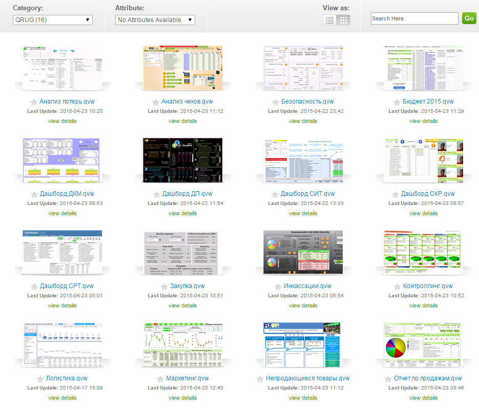 Access Point QlikView