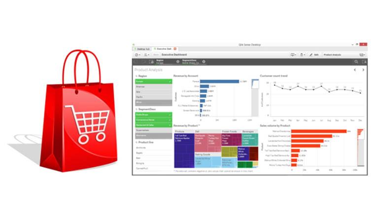 Как сделать расчет заказа товара в бесплатной версии Qlik Sense Desktop