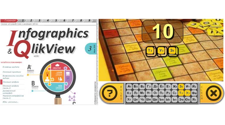 Альманах визуализации QlikView (выпуск №3/1): Как сделать в QlikView собственную игру в слова по своим правилам