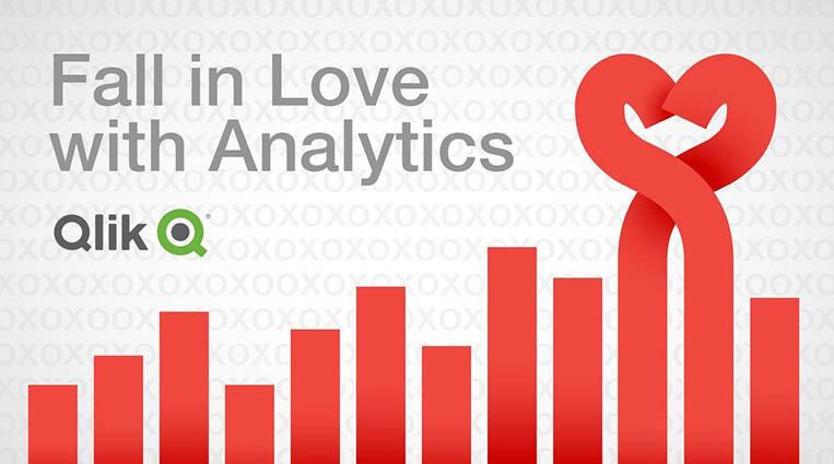 День Святого Валентина по версии аналитика Qlik Sense