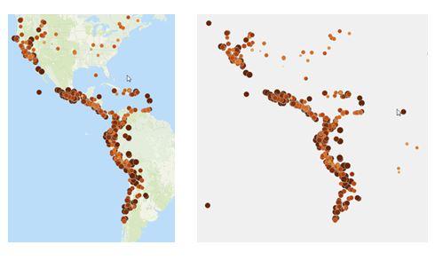 Визуализация данных на карте: Убираем шумы