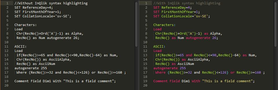 Qlik + Sublime = 9 полезных настроек для легкой разработки