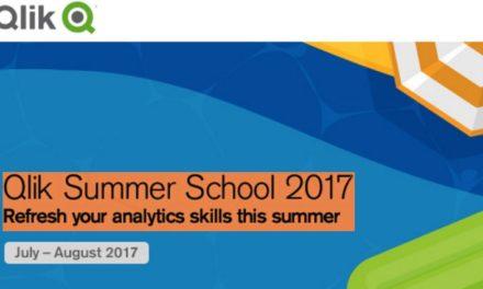 Летняя школа Qlik 2017: Обновите свои знания аналитики, не выходя из дома