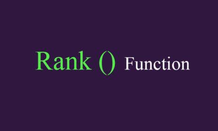 QlikView: функция Rank