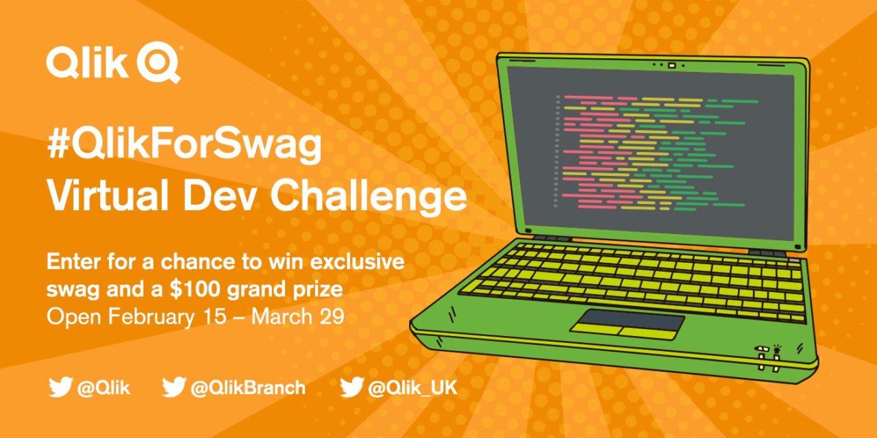 Конкурс #QlikForSwag для разработчиков: 15 февраля – 29 марта 2018