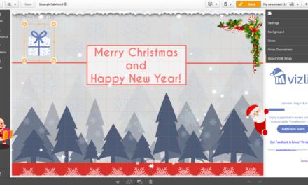 Новогоднее расширение для Qlik Sense